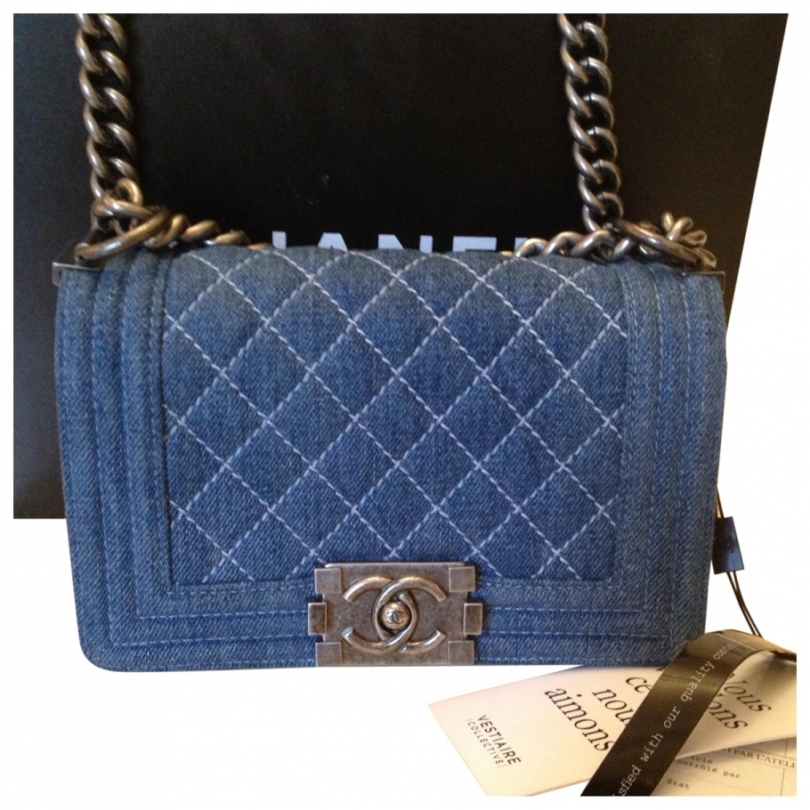 Bag CHANEL Blue in Other All seasons - 866330