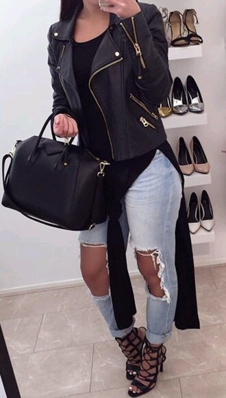 jacket leather jacket black leather jacket perfecto