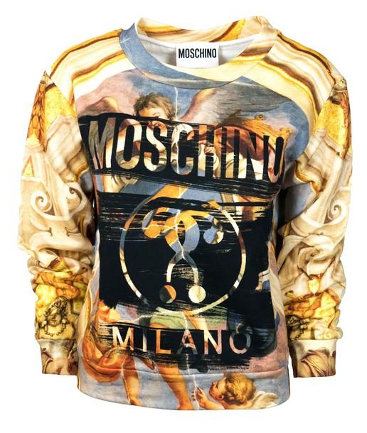 Moschino sweatshirt sweater