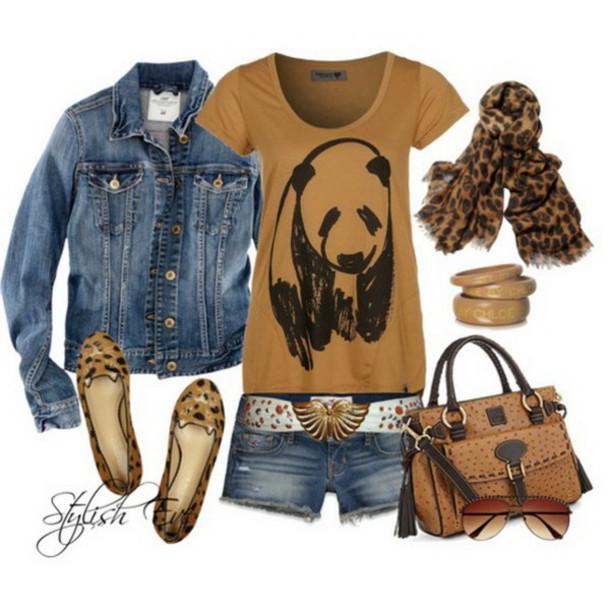jacket denim jacket shorts bangle sunglasses flats scarf jeans cardigan