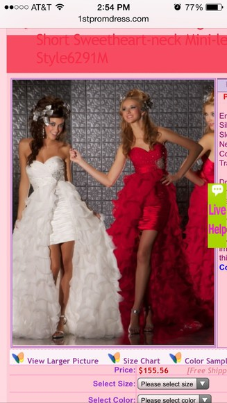 wedding dress jewels white dress sequin dress lace dress red dress style sexy dress high-low dresses