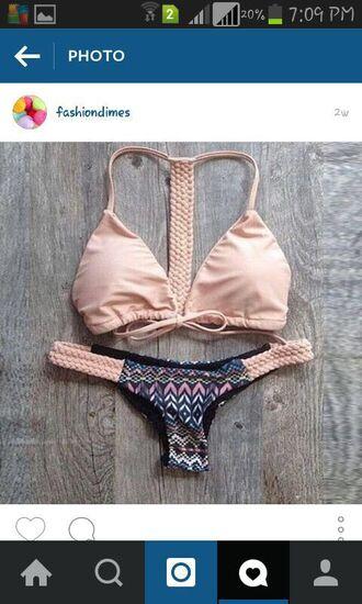 swimwear bra panties beautiful beach lingerie