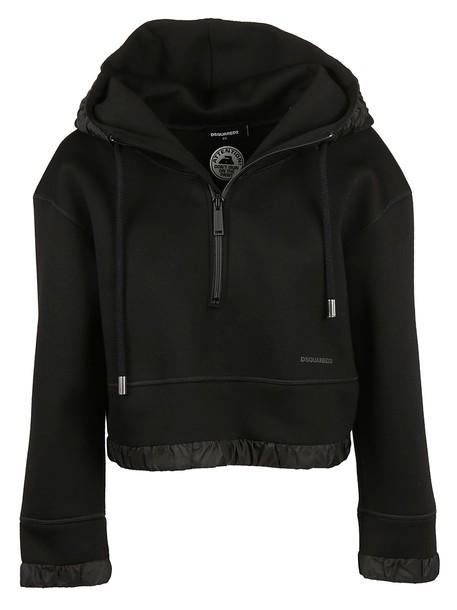 Dsquared2 sweatshirt fit black sweater