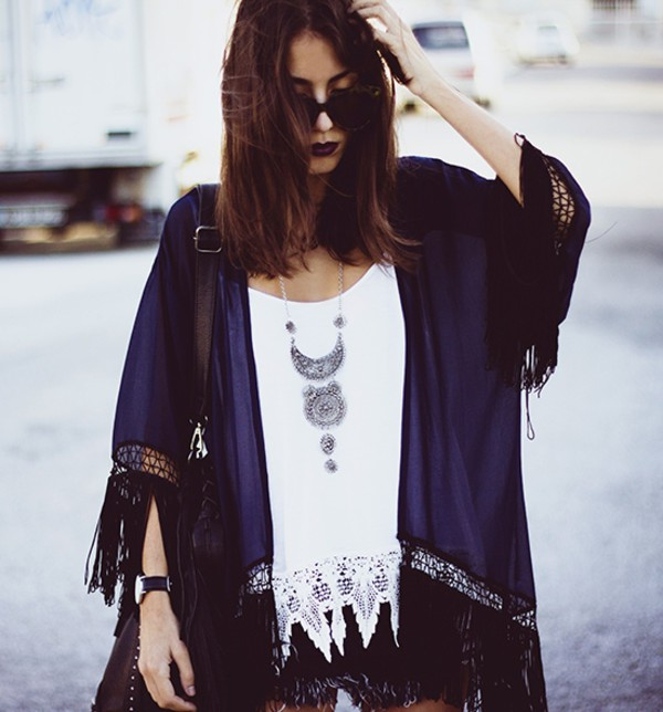 cardigan kimono hipster top hipster top denim shorts swag streetstyle stylemoi