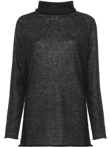 jumper women mohair grey sweater