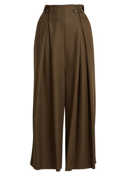 Sportmax khaki pants