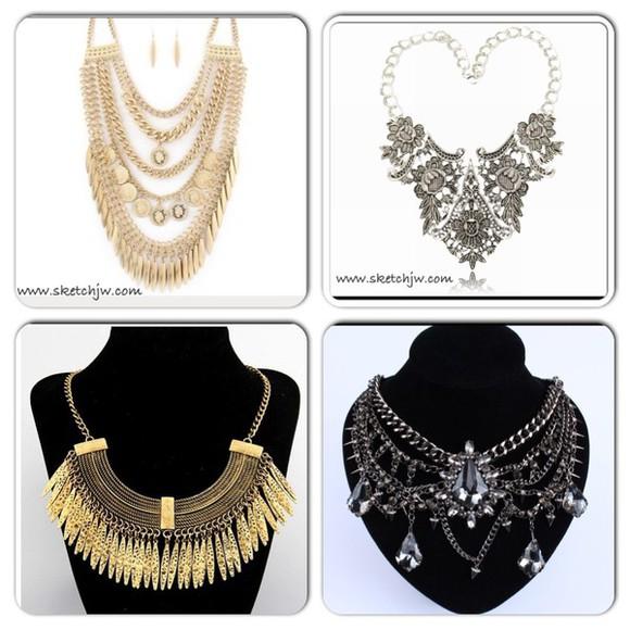 trendy jewels crystal sketchjewelry necklace gypsy instagram sketchjw statement necklace boho