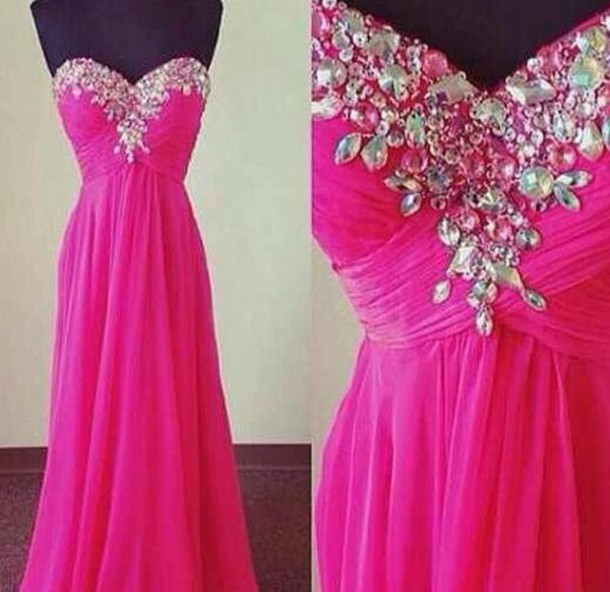 dress prom dress pink dress beautiful formal dress