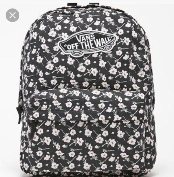 4ba81865cb bag flower vans bag