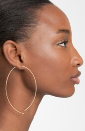 jewels,rose gold,hoop earrings,geometric