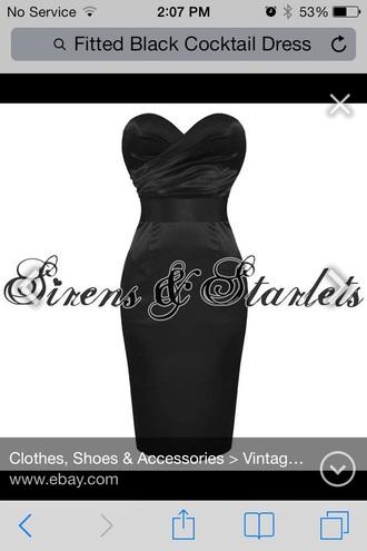 dress black dress black fashion cocktail dress