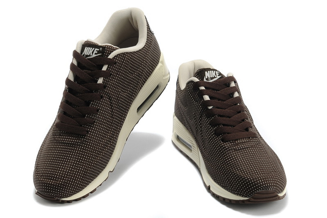 Nike Air Max 90 VT Mens with Brown - White Colorways