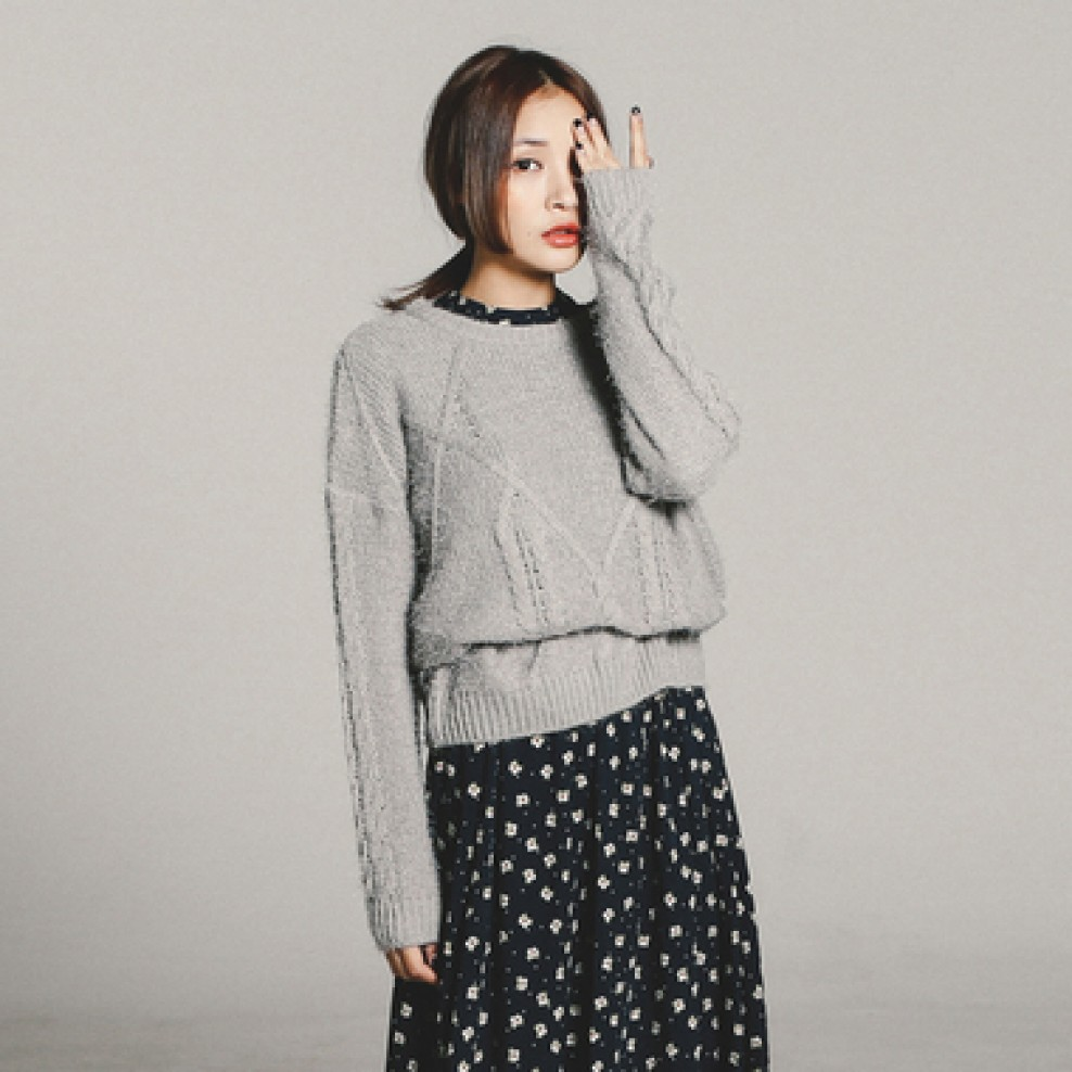 Soft knit tee
