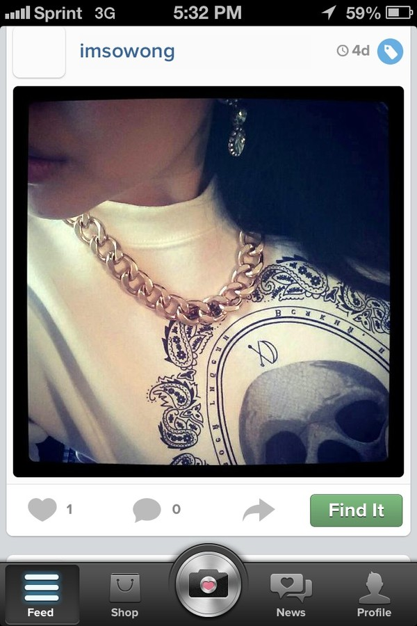 sweater white skull jewels