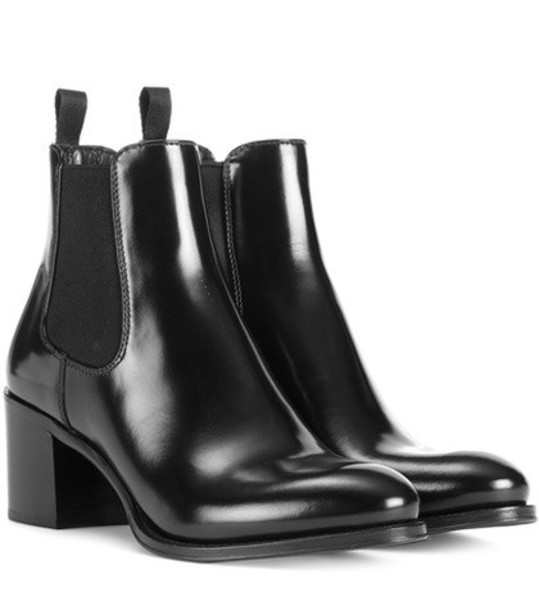Church's leather ankle boots ankle boots leather black shoes