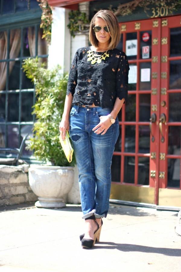 the courtney kerr t-shirt jeans shoes bag sunglasses jewels