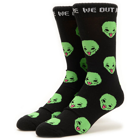 Rip N Dip We Out Here Crew Socks at Zumiez : PDP