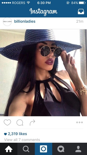 sunglasses black black sunglasses black shades circle shades circled sunglasses rayban hat jumpsuit