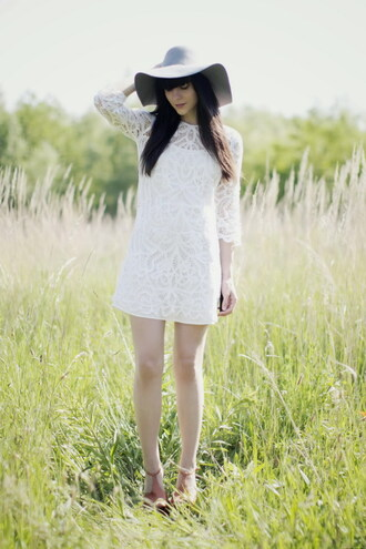 summer dress white dress lace alix the cherry blossom girl lace dress