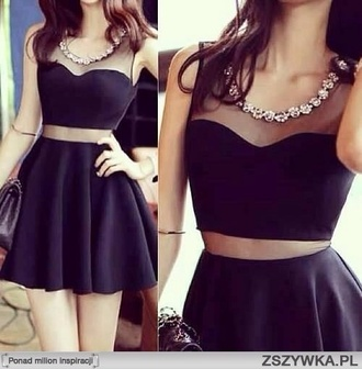dress black little black dress short dress short black dress cut-out dress sparkling dress party dress sexy party dress black party dress no sleeves