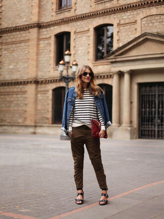my daily style blogger jacket bag shoes