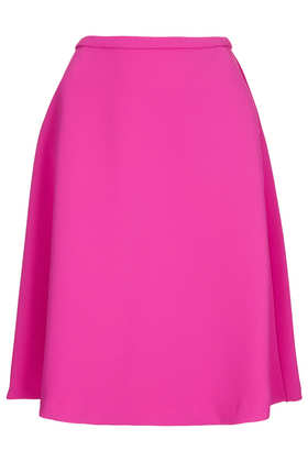 Heavy Crepe Full Skirt - Skirts  - Clothing  - Topshop