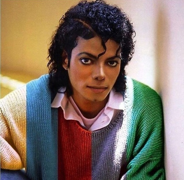 sweater michael jackson multicolor