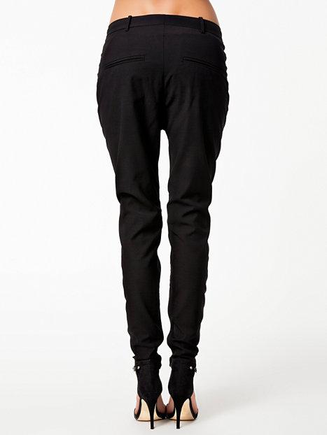 Teodosio Pants - By Malene Birger - Zwart - Broeken & Shorts - Kleding - Vrouw - Nelly.com