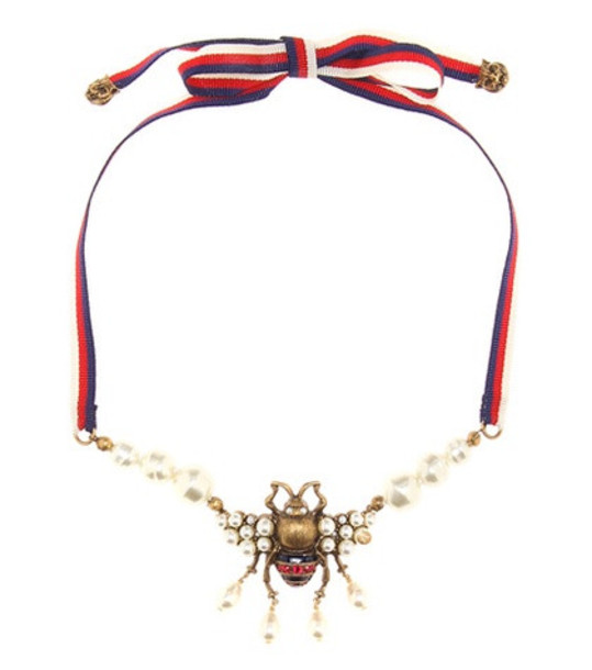 Gucci Embellished necklace
