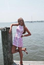 dress,pink,lily pulitzer,preppy dress