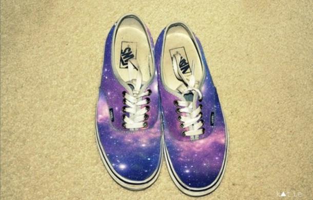 226c2c83309 nebula galaxy print vans vans galax sneakers shoes vans sneakers clothes  Vans galaxy internet