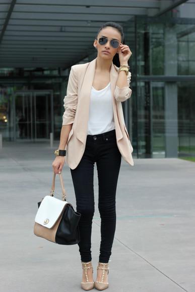 naya rivera beige jacket beige jacket nude nude jacket tumblr tumblr girl tumblr jacket tumblr clothes streetstyle streetwear