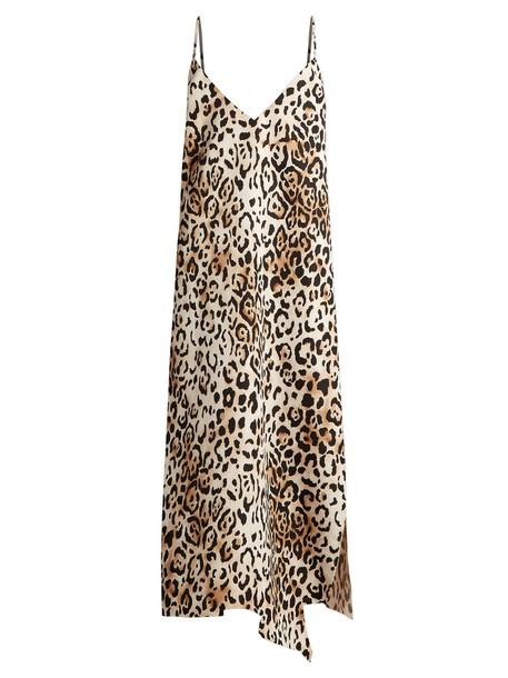dress slip dress print