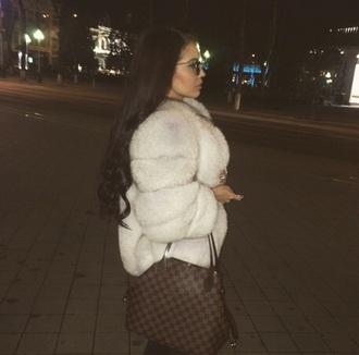 coat faux fur jacket fur coat fur jacket white fur coat
