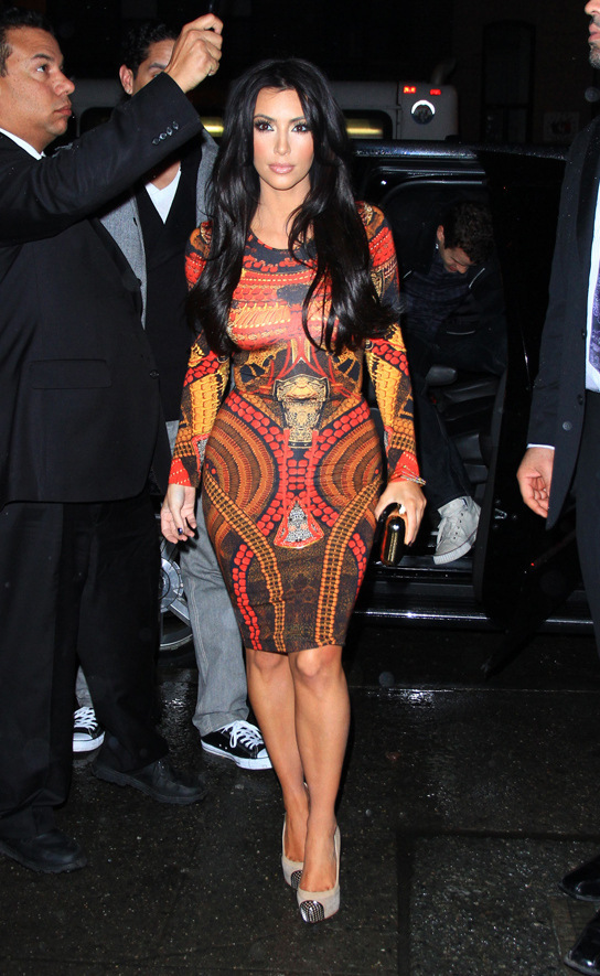 Wholesale Product Snapshot Product name is Plus size knee length long sleeve geometric Print kim kardashian dress celebrity dress Midi Bodycon Dress wholesale