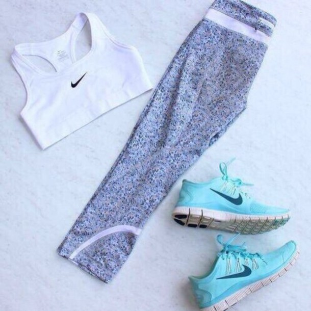tights shoes sports bra leggings pants sport nike bras and pants and shoes