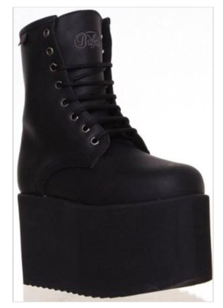 platform shoes grunge shoes