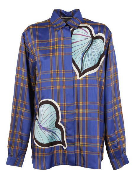 Marco De Vincenzo shirt checkered shirt heart checkered top