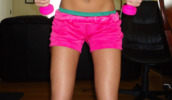 shorts,sportswear,outfit,pink,girly,tumblr,sports shorts,summer