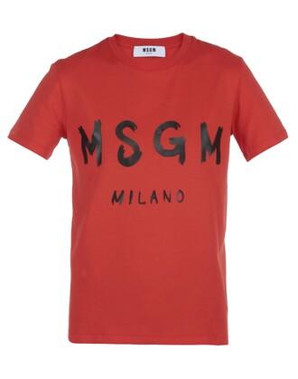 t-shirt shirt cotton t-shirt cotton red top