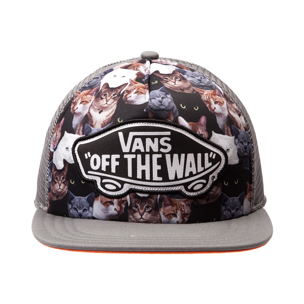 Vans x ASPCA Classic Patch Cat Trucker Hat , Multi | Journeys Shoes