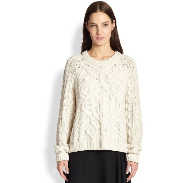 McQ Alexander McQueen Wool & Cashmere Cable-Knit Sweater