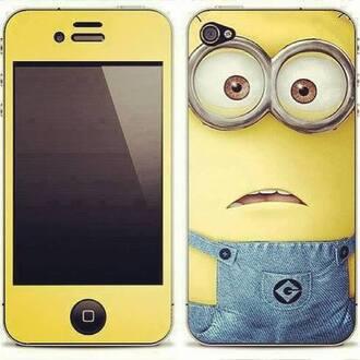 jewels phone case minion