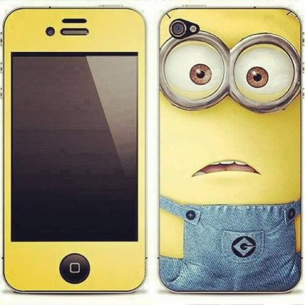 jewels phone cover minions