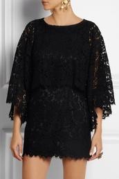 dress,lace mini dress,lace dress,black dress,dolce and gabbana,fashion,style,earrings,earings,swag