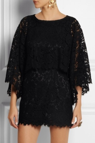 dress fashion style lace mini dress lace dress black dress dolce and gabbana earing earrings swag