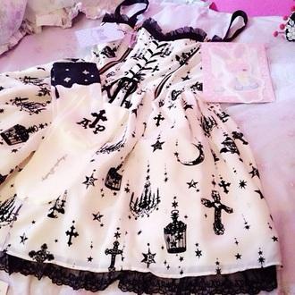 dress pastel goth cute