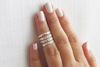 jewels knuckle ring ring silver ring hipster