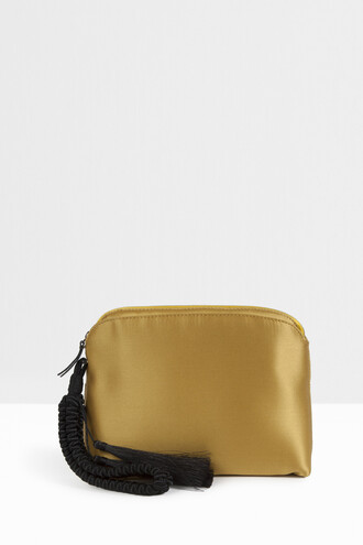 clutch yellow bag