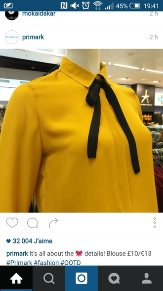 blouse clothes chemise noeud